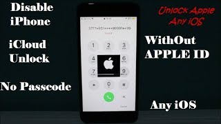 How To Unlock iPhone/iPad WithOut Passcode | iCloud Unlock WithOut Apple ID/WiFi🙀 Any iOS ✔