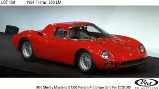 Lot video: 1964 Ferrari 250 LM