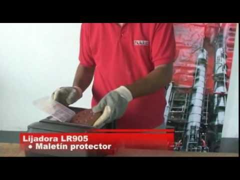Lijadora Roto Orbital URREA México