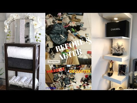 HOME ORGANIZATION ||  (EXTREME) Decluttering & Purge UPDATE