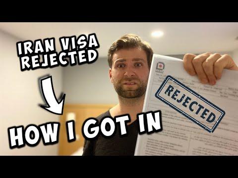 IRAN TOURIST VISA REJECTED (how I Still Got In) ویزای ایران رد شد