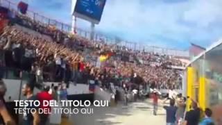 Catania - Catanzaro 4-1 Tifo ultras curva nord 11/10/2015