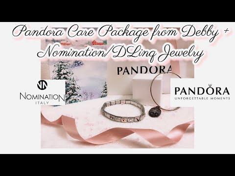 Pandora Gifts From Debby & Nomination/Dlinq Bracelet She Designed  (CANADA🇨🇦 To SWEDEN 🇸🇪)