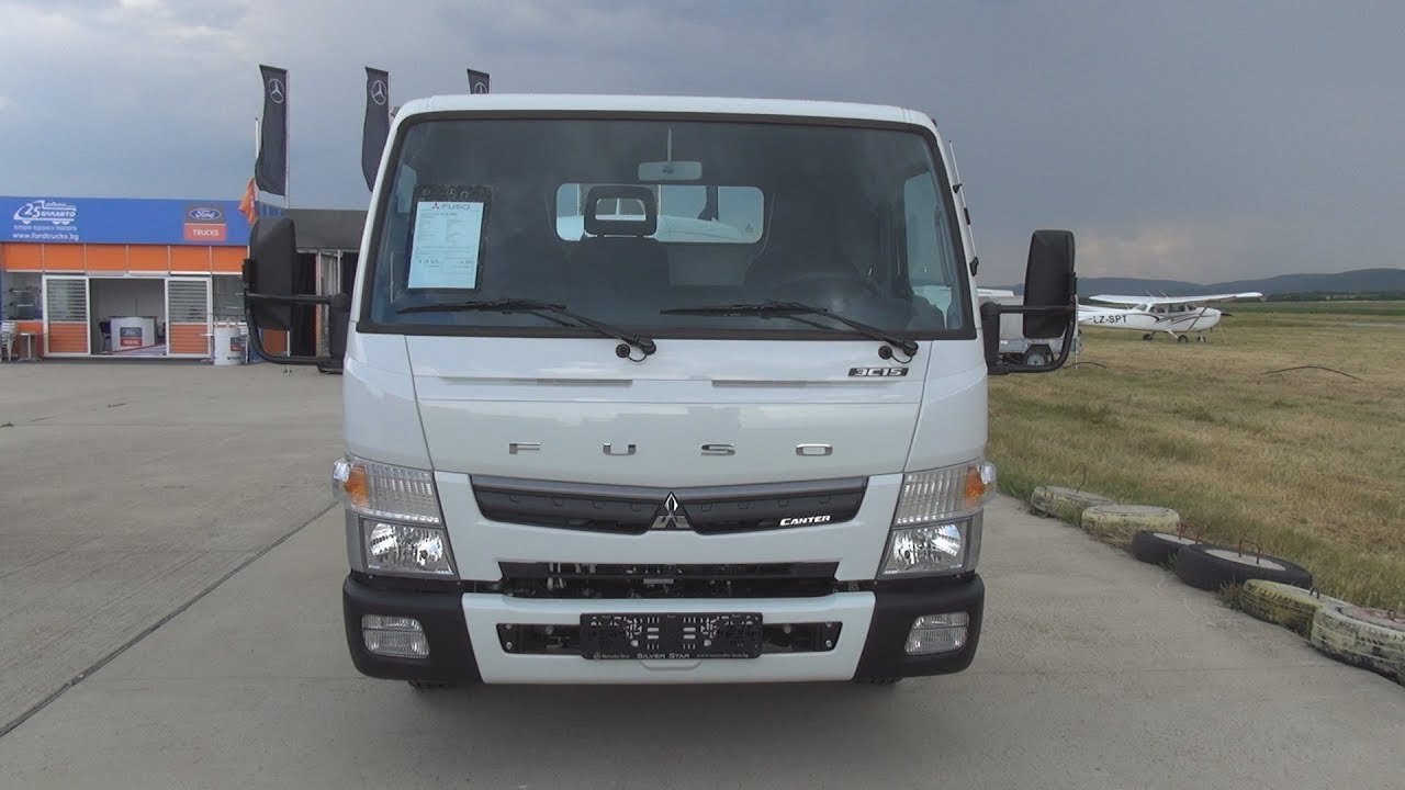 Fuso Canter 3c15 3400 Chassis Truck 2018 Exterior And Interior Youtube