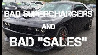 "Used Hellcat Hunting: Bad Superchargers and Bad ""Sales"""