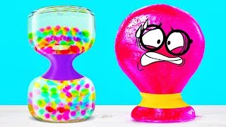 Slick Slime Sam Gets Bedazzled by ORBEEZ HOURGLASS thumbnail