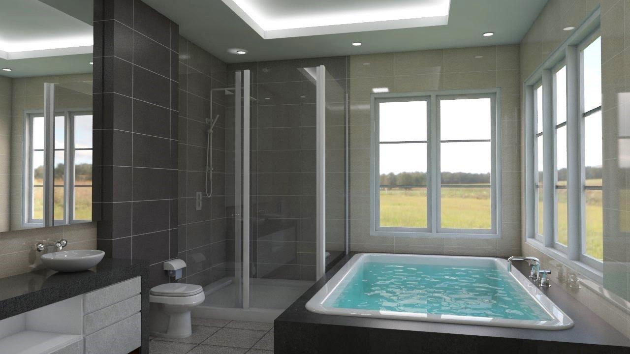Sketchup Interior Design Make A Bathroom Youtube