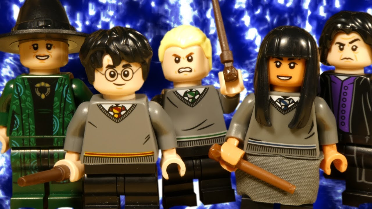 LEGO HARRY POTTER - DUELING DISASTER - WIZARDING WORLD STOP MOTION