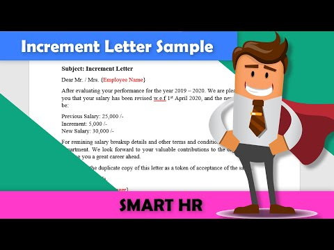How To Write An Salary Increment Latter | Increment Latter | Smart HR
