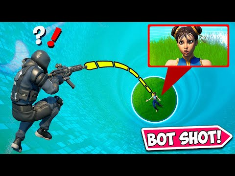 *FIRST EVER* AI BOT TRICKSHOT!! (INSANE) - Fortnite Funny Fails & WTF Moments! #1193