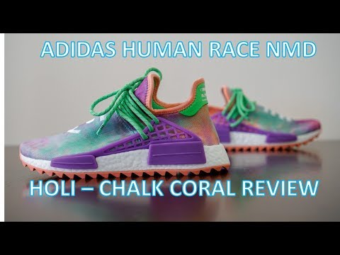 b098c45126cdf adidas PW HU HOLI NMD MC Chalk Coral • On-Feet   Review + Sneakerboard