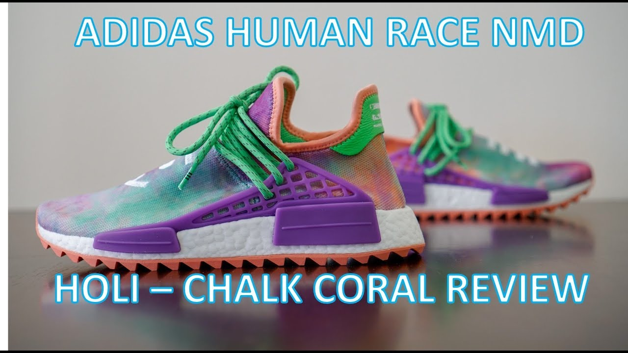 90490d33a REVIEW   ON-FEET - Adidas Human Race NMD Holi Chalk Coral