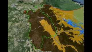 Vuelo a la Cuenca Río Papaloapan en Google Earth
