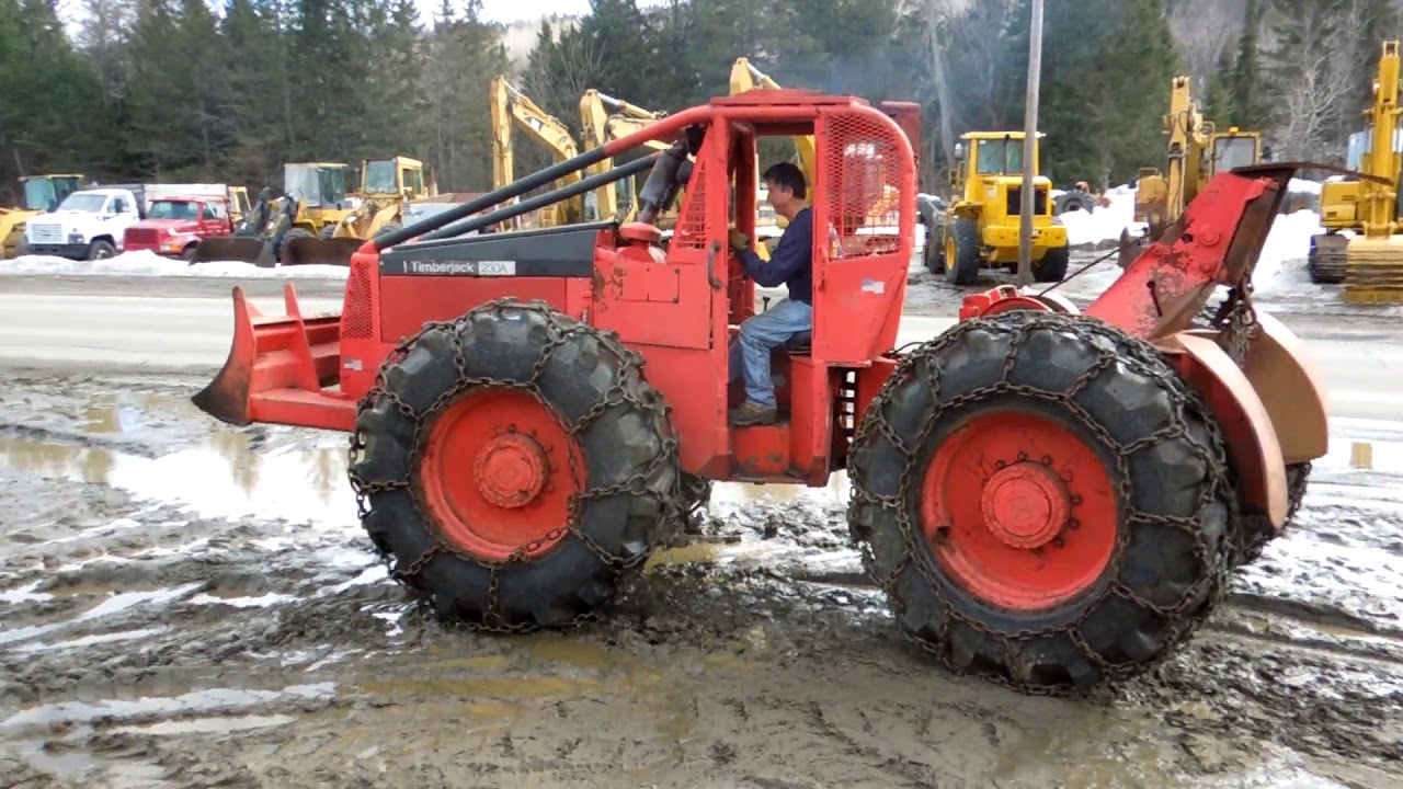 1984 TIMBERJACK 230A For Sale