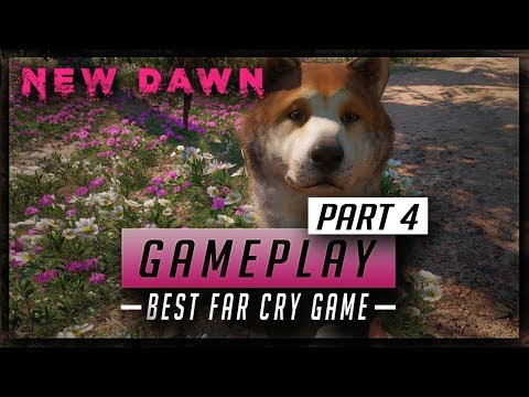 Far Cry New Dawn Gameplay (PART 4) The Cutest Companion, Timber - Awesome New Outpost Mechanics thumbnail