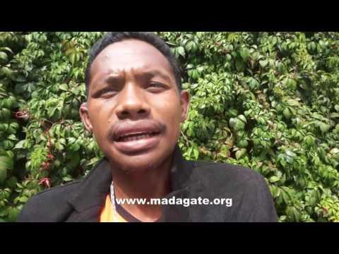 Rafidimanana Désiré T.M.H. manohana an'i Andry Rajoelina