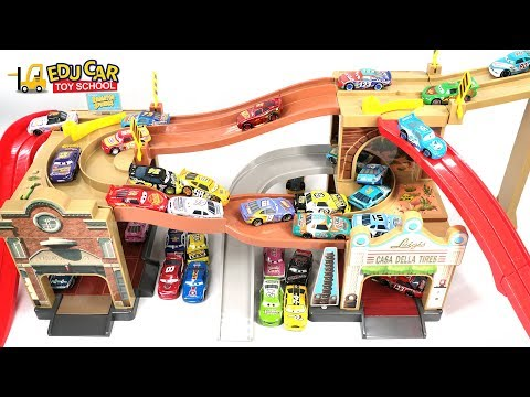 Thumbnail: Learning Color Special Disney Pixar Cars Lightning McQueen Mack Truck Slime play for kids car toys