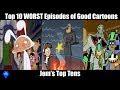 top 10 worst episodes of good cartoons