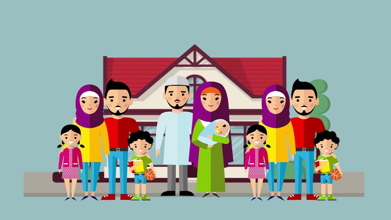 Koleksi 84 Gambar Animasi Foto Keluarga Besar Paling Keren