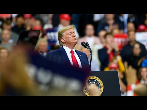 Trump Spouts Conspiracy Theories and Attacks Omar at Minnesota Rally