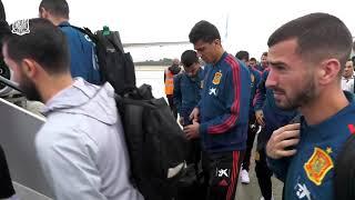 España-Gales: Salida de la Selección Española