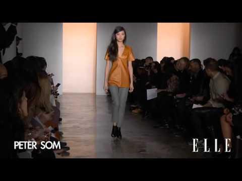 Peter Som. Nueva York Otoño Invierno 2014-2015 | Elle España