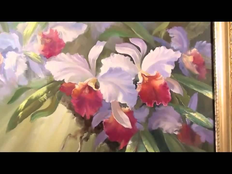 Игорь сахаров цветы акварельно