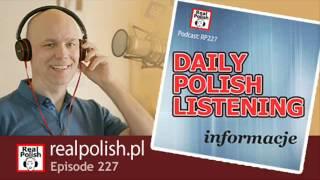 RP227: Daily Polish Listening | Polish Podcast
