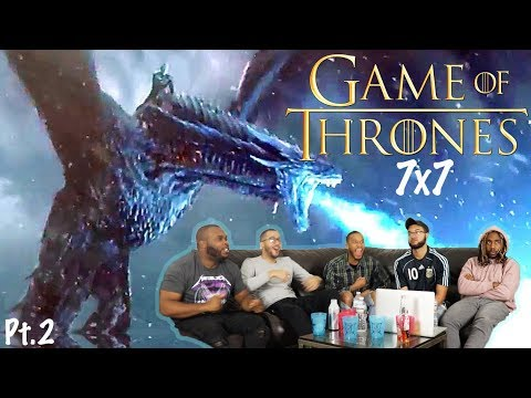"""Download WALL'S DESTROYED! ! Game of Thrones Season 7 Episode 7 """" The Dragon and the Wolf"""" REACTION! (Part 2)"""
