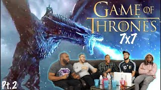 WALL'S DESTROYED! ! Game of Thrones Season 7 Episode 7