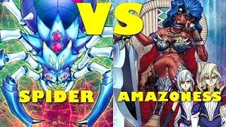 Real Life Yugioh - SPIDER vs AMAZONESS | May 2017 Scrub League