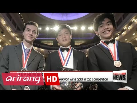 South Korean pianist wins gold in top international competition