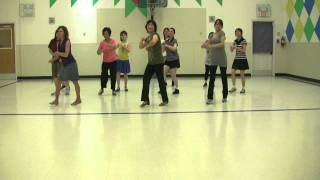 Blame It On The Bossa Nova - June-16-2011-Line Dance.mp4