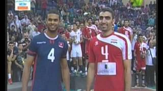 مصر تفوز بالبطولة الافريقية لكرة الطائرة ج 3 30-7-2015