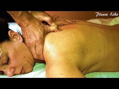 What a Tough Little Lady! Deepest Tissue Massage Asmr Almost No Reaction!