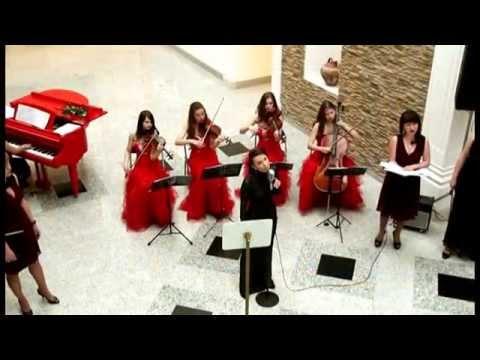 Astor Piazzolla Oblivion Vocal And String Quartet