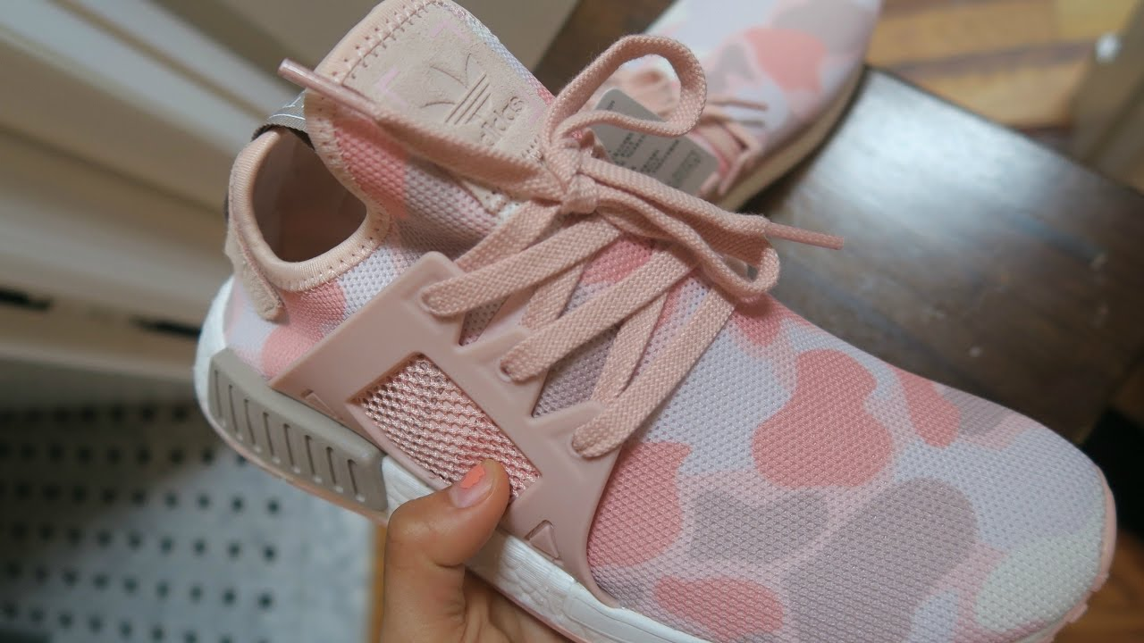 e42ebf7e3 ADIDAS NMD XR1 PINK CAMO REVIEW   ON FOOT! FIRST PICK UP OF 2017 ...