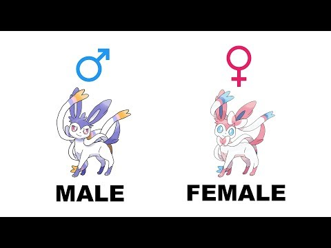 Sylveon Umbreon Espeon Leafeon Glaceon Gender Difference Fanart