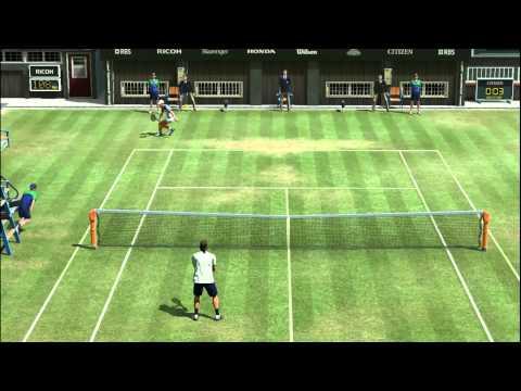Virtua Tennis 4 (PC) - F. Gonzalez vs J. Courier -  Modo Arcade (Parte 3 final)