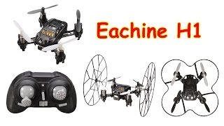 Eachine H1 Sky walker 2.4GHz Mini RC Climbing Wall UFO Quadcopter (RTF)