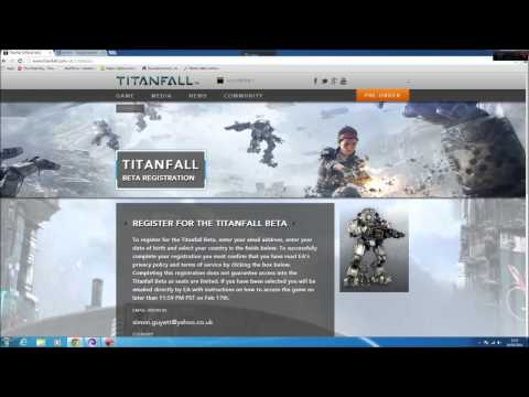 Titanfall BETA - PC Beta Key issues - Getting an XBOX one code instead of PC