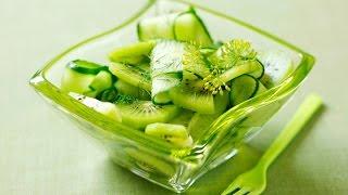 Легкий салат с огурцами. Простые рецепты