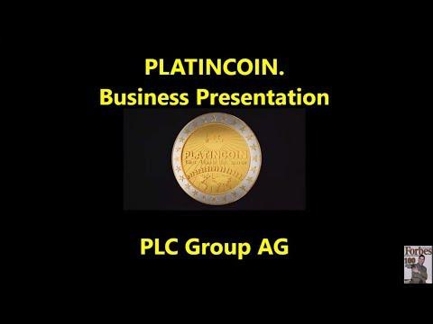 Platincoin. Business Presentation. PLC Group AG