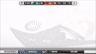 Season 14 - Preseason Week 1: Philadelphia Eagles v Cleveland Browns