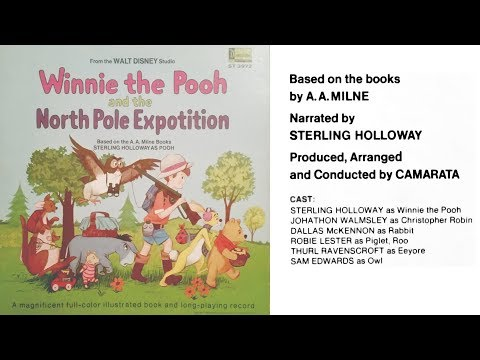 Winnie the Pooh and the North Pole Expotition (1968) Disneyland Book and Record