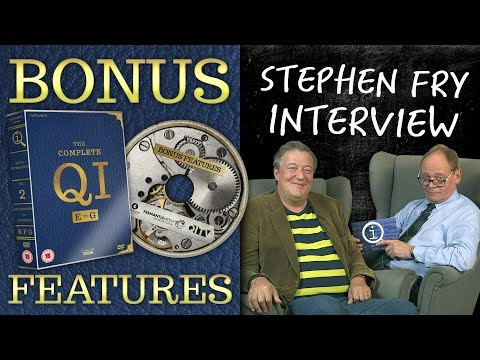 INTERVIEW WITH STEPHEN FRY | QI DVD Bonus Features