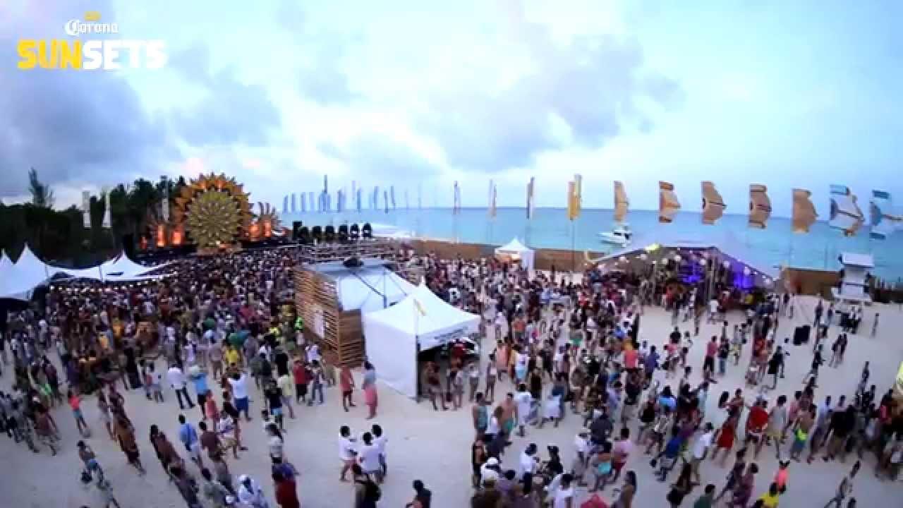 Corona Sunsets At Mamita S Beach Club
