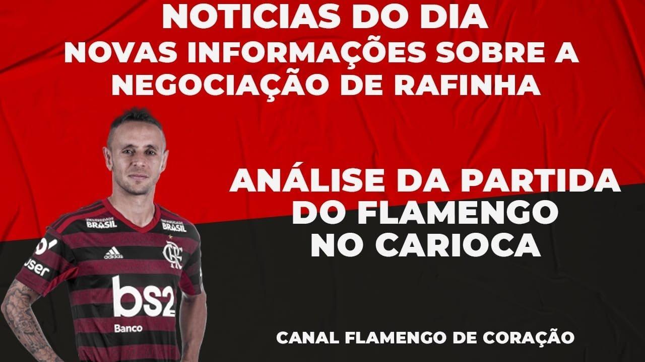 TUDO SOBRE O RAFINHA - SHOW DA BASE DO FLAMENGO- VEM PRA LIVE