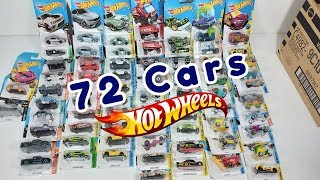 Opening Hot Wheels Box with 72 car assortment | cars/toys for kids