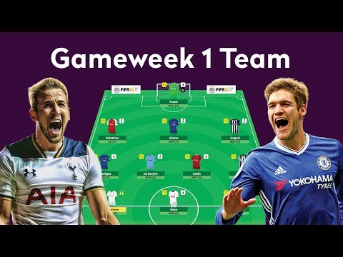 TEAM SELECTION GAMEWEEK 1 | FANTASY PREMIER LEAGUE